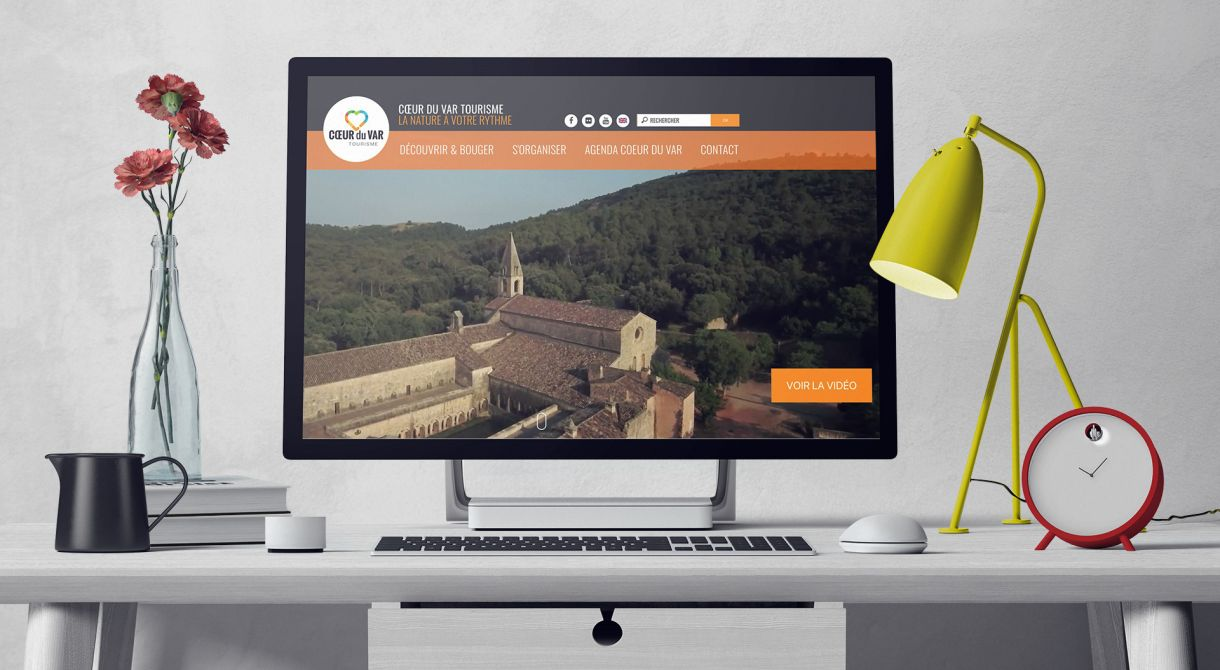 Introduction du site Tourisme de Coeur du Var